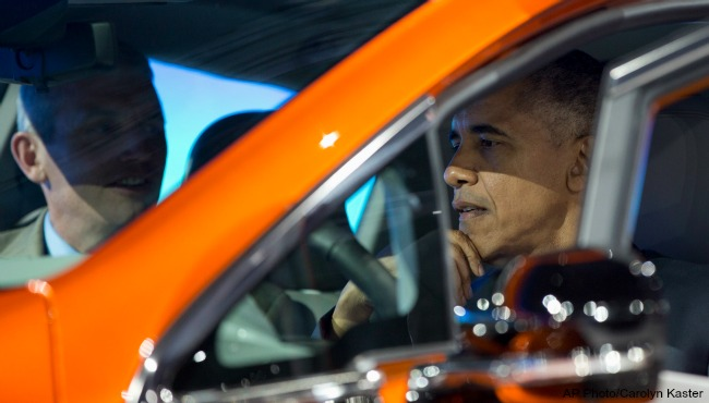 President Barack Obama NAIAS 012016 AP_183901