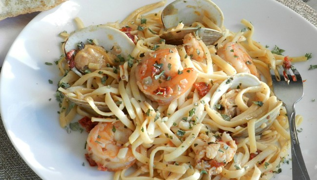 Italian seafood pasta from Cooking with Curls_35591