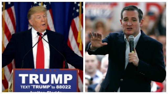 AP photos of Trump_Cruz_202855