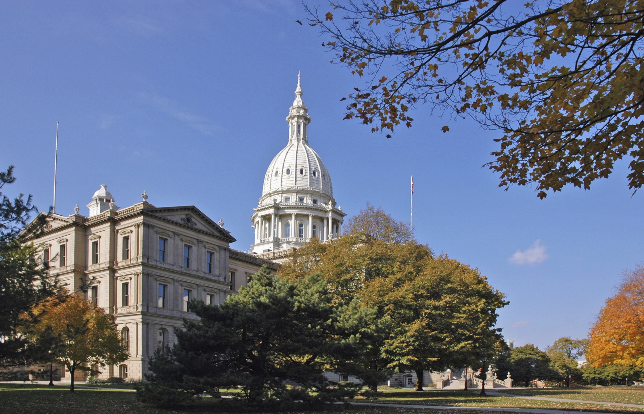 State Capitol in Lansing, Michigan_39524