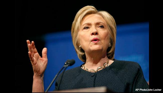 Hillary Clinton AP 052716_217561