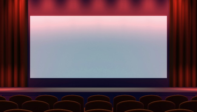 Movie theater screen_41826