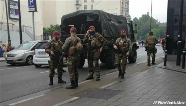 Belgium Security Brussels AP 062116_223774