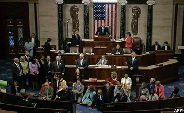 House gun control sit-in 062216 AP_224410