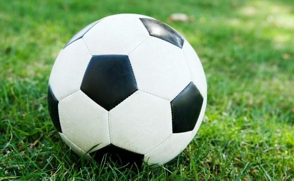 Soccer ball in grass_42701
