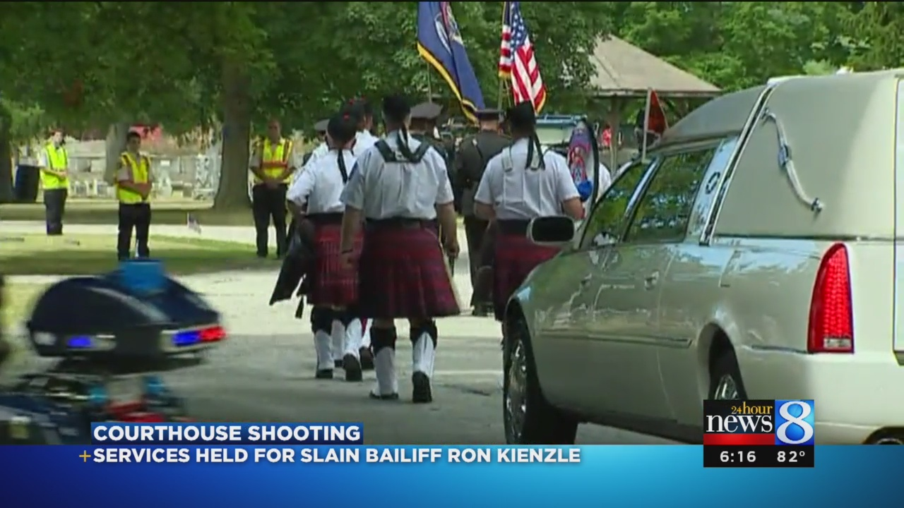 Funeral for Berrien Co  bailiff: 'We're going to miss him'