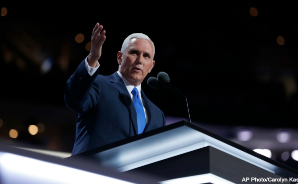 Mike Pence Republican National Convention a 072016 AP_230670