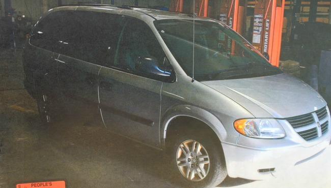 Jeffrey Willis' van police evidence_228724