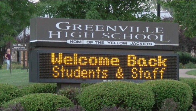 generic greenville high school sign shot_241175