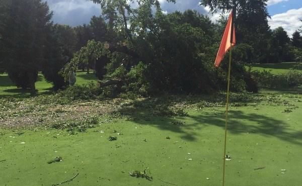 ironwood golf course storm damage 082116_239096