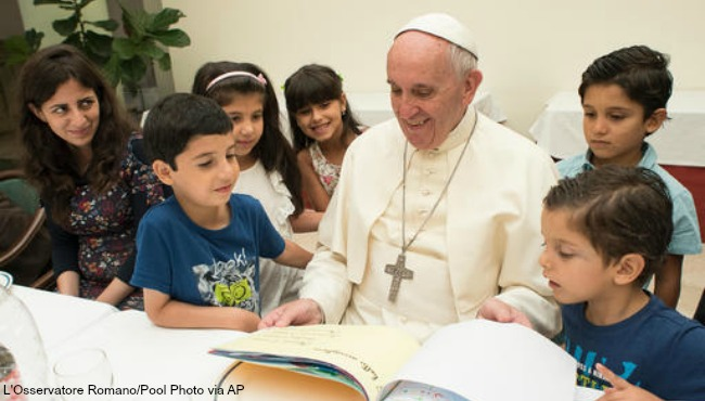 pope francis with children 081416_237048