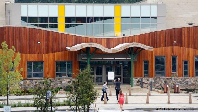 Sandy Hook new school AP 082916_241143