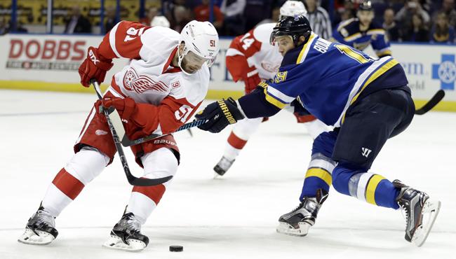 Detroit Red Wings Franz Nielsen 102716 AP_256483