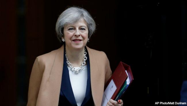 britain prime minister theresa may AP 032017_308180