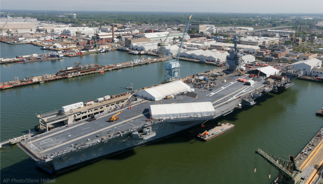 USS Gerald R. Ford generic_318461