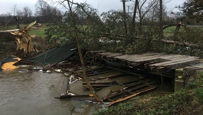 wooden bridge tyler creek damage 041117_319746