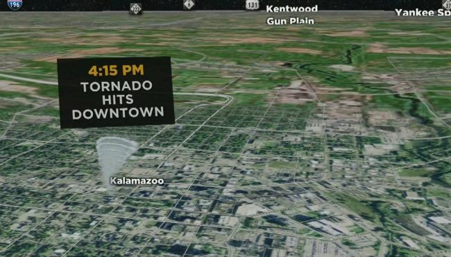 1980 kalamazoo tornado map_336170