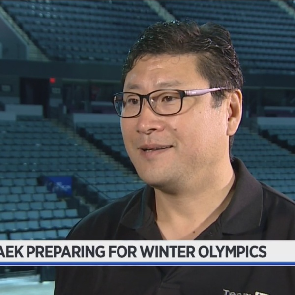Former Griffins coach Paek prepares for Olympic moment