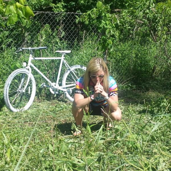 NOT SIZED Kalamazoo Cycling Tragedy ghost bike 060816_220595
