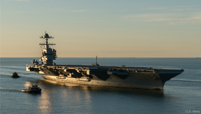 USS Gerald R Ford 060117_347202