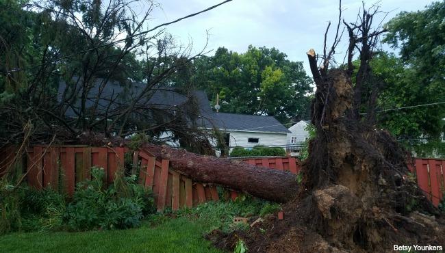 northwest Grand Rapids damage 070717_366234