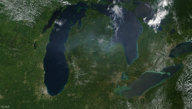 satellite Michigan Aug 2017 NOAA_385773