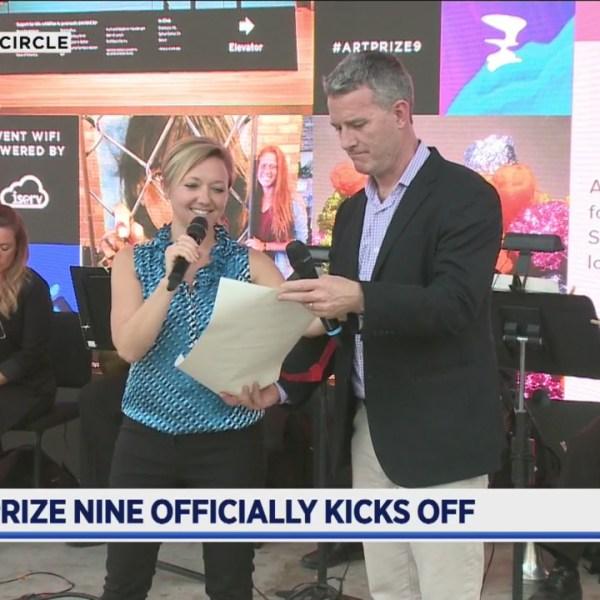 ArtPrize Nine opening ceremony