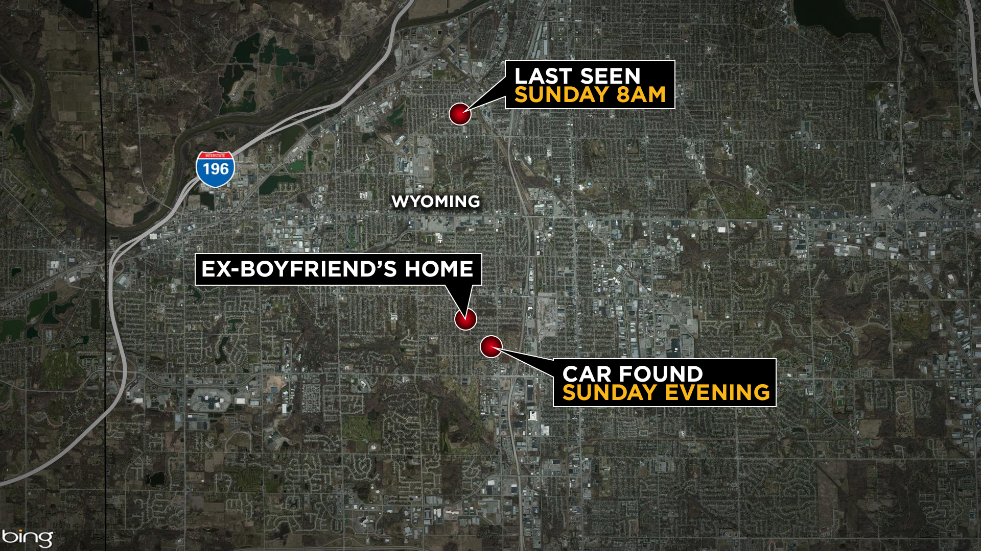 Wyoming police shift focus to missing mom's car