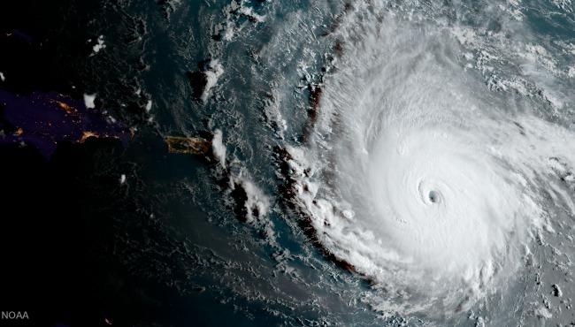 Hurricane Irma satellite AP 090717_397202