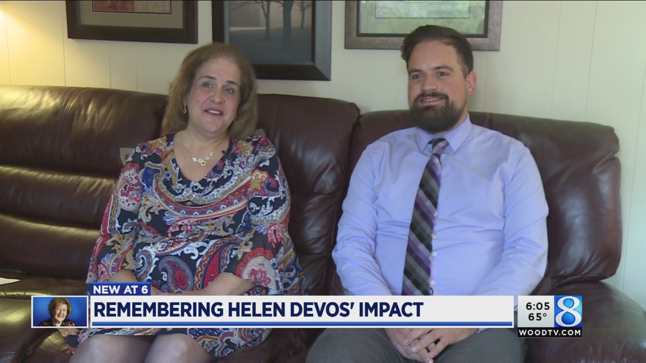 Family credits DeVoses with saving son's life