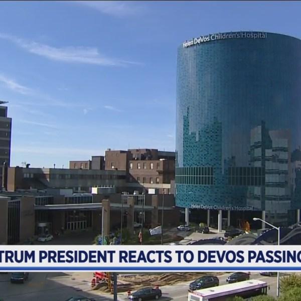 Spectrum president reacts to DeVos passing