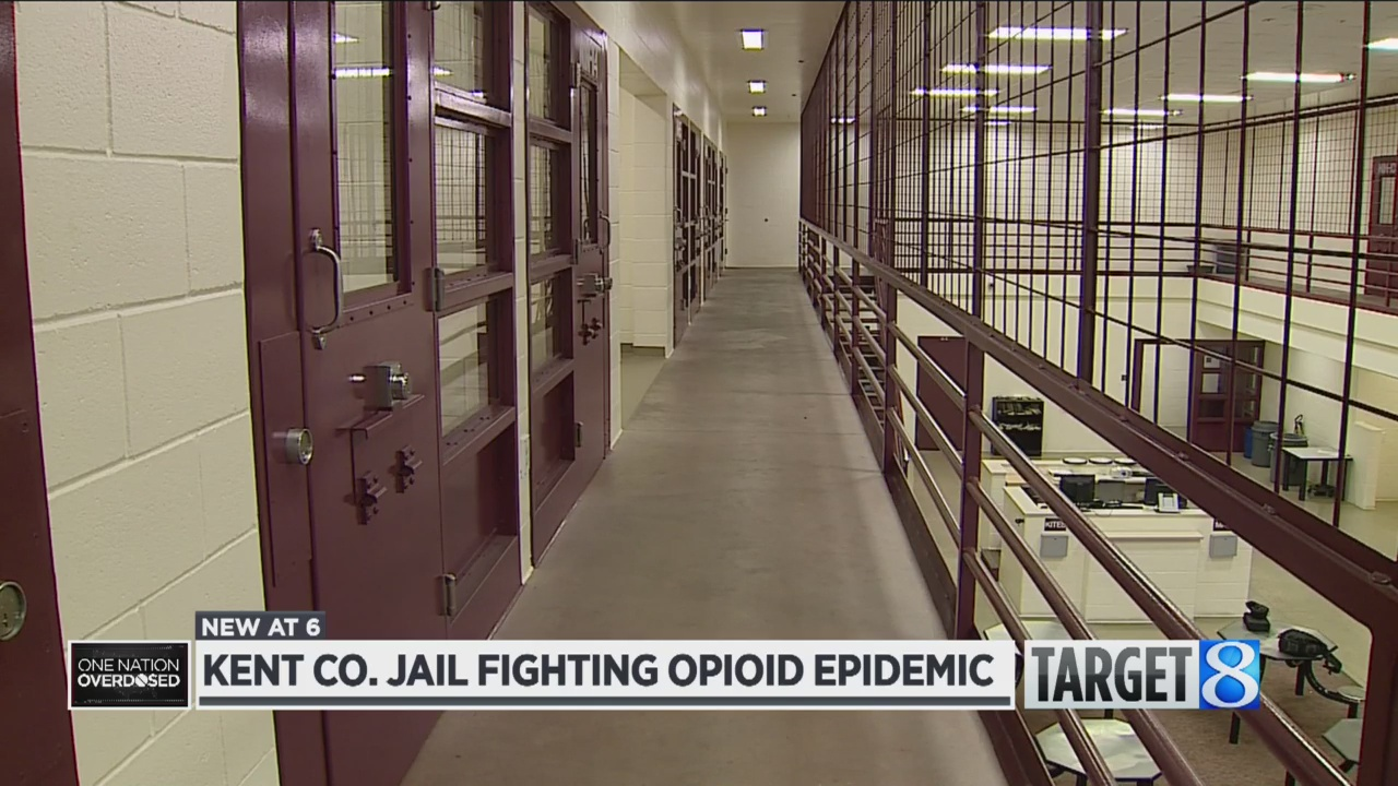 Kent Co  jail 'changing course' to address opioid crisis