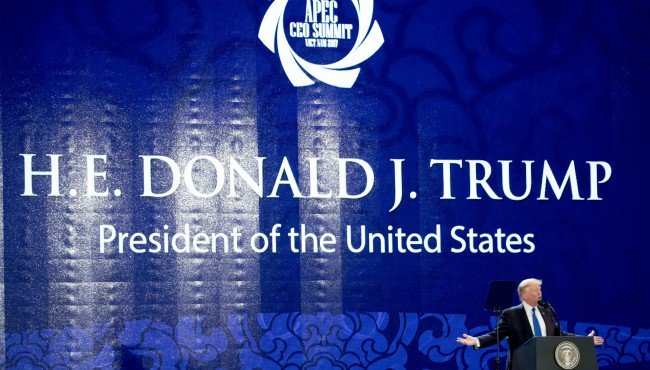 Donald Trump Asia-Pacific Economic Cooperation summit 111017_431400