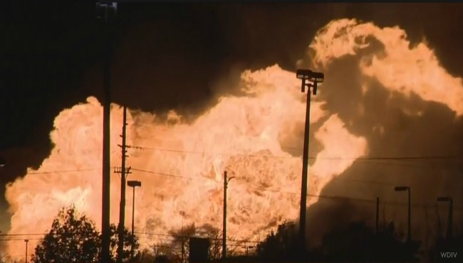 Orion Township gas line fire 112117 WDIV_436940