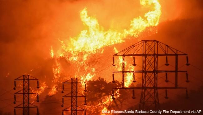 california wildfires 122017 AP_450786