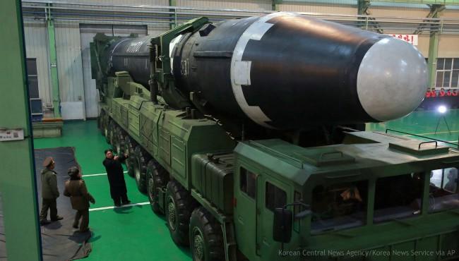 North Korea intercontinental ballistic missile 120117_441358
