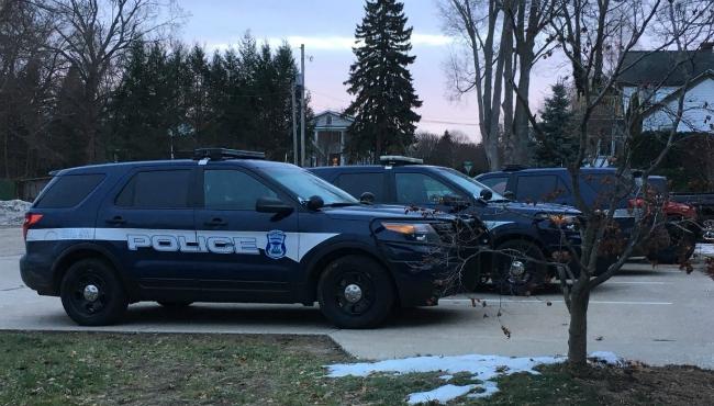 generic saugatuck-douglas police winter 1