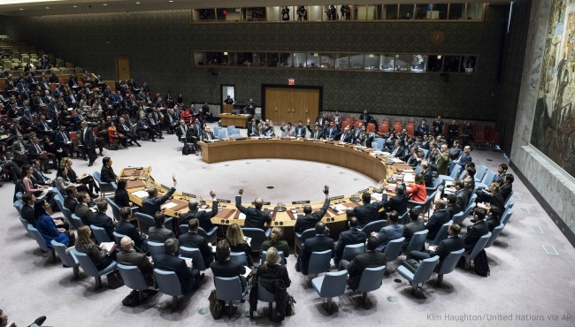 UN United Nations Security Council 121817_450919