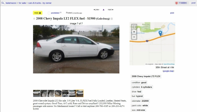 Craigslist Washington Dc Cars For Sale By Owner | Top New Car