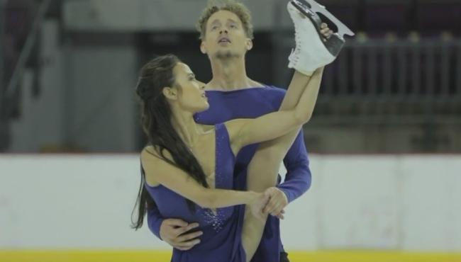 olympic ice dancers Madison Chock and Evan Bates 010218_455041