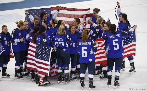 US women's hockey gold Canada 022218_484457