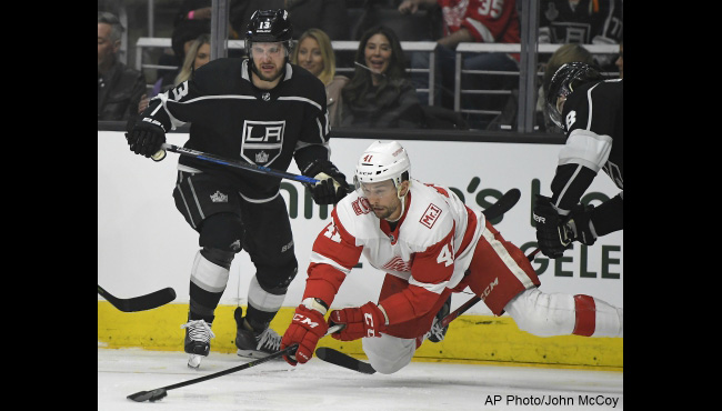 detroit red wings la kings luke glendsening 031518 AP_1521170222472