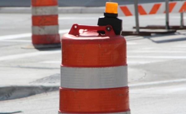 generic construction barrel generic road construction generic road closed