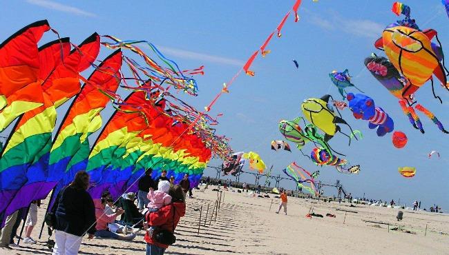 Kites at the Great Lakes Kite Festival
