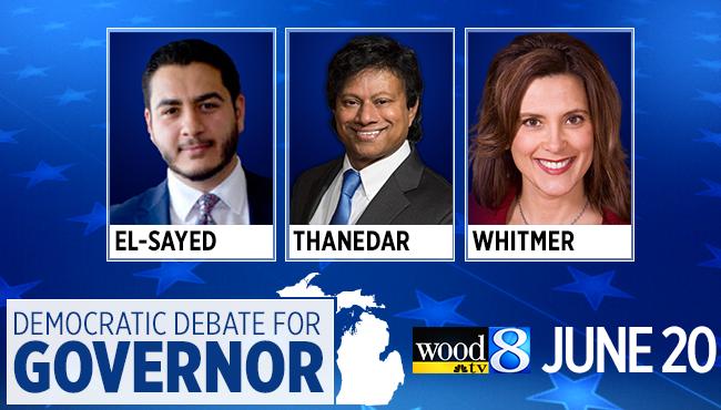 Democratic Debate for governor June 20 050718.jpg
