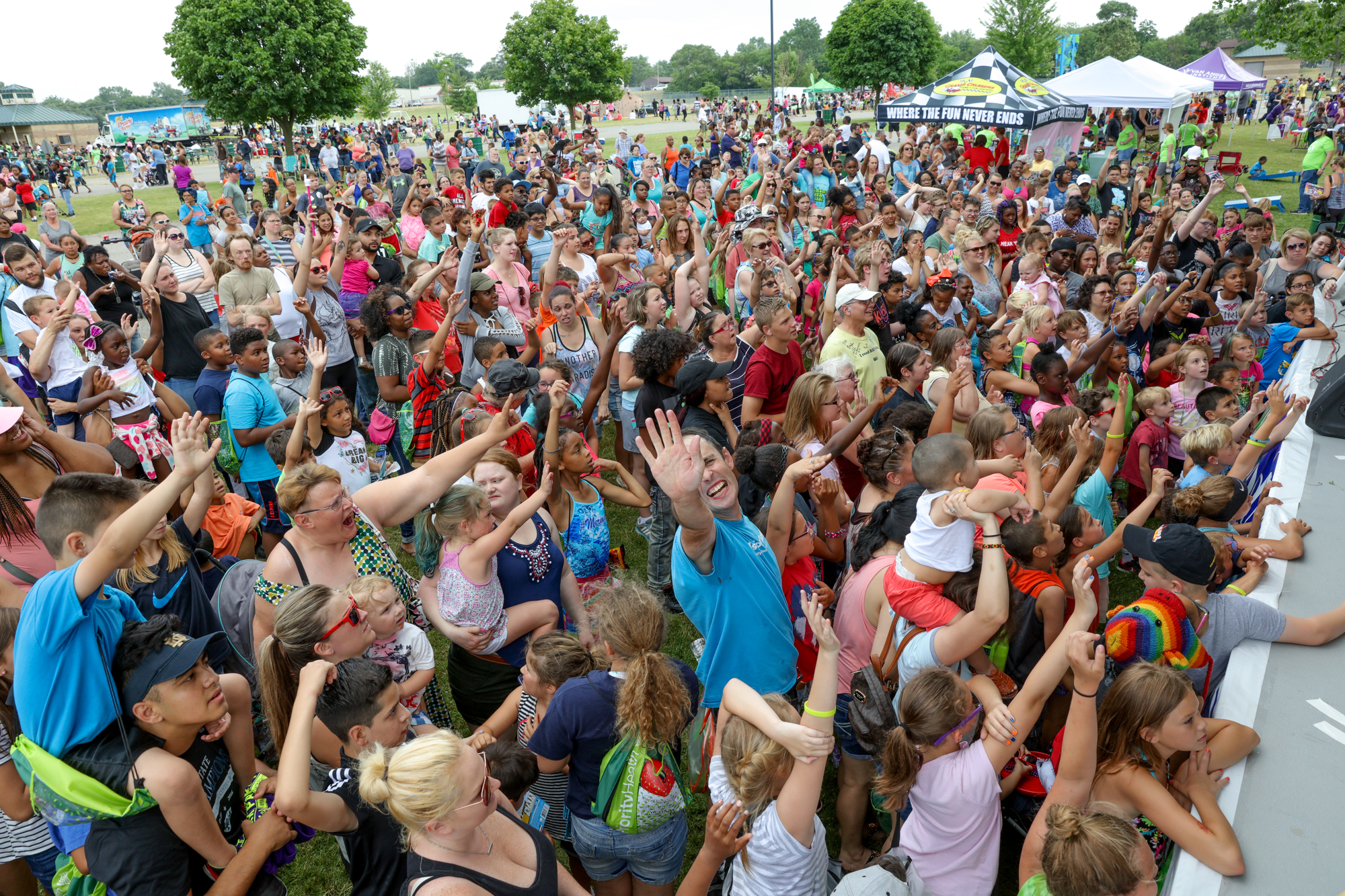Wyoming Park Party 2017