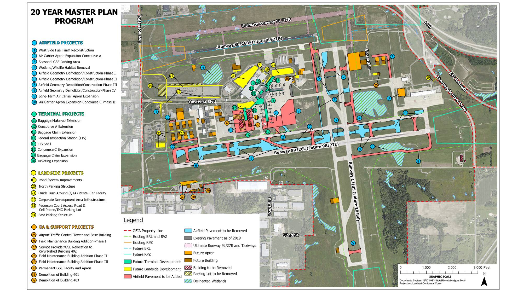 Ford Airport submits 20-year plan to board