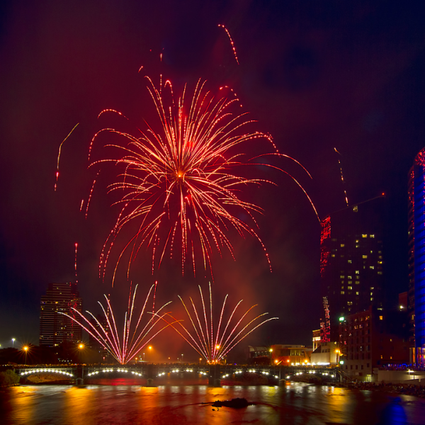 Grand Rapids Fourth of July fireworks 2018