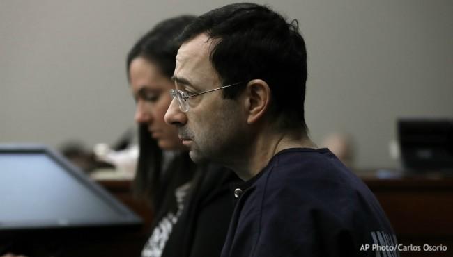 Larry Nassar sentencing AP 2 012418_466234