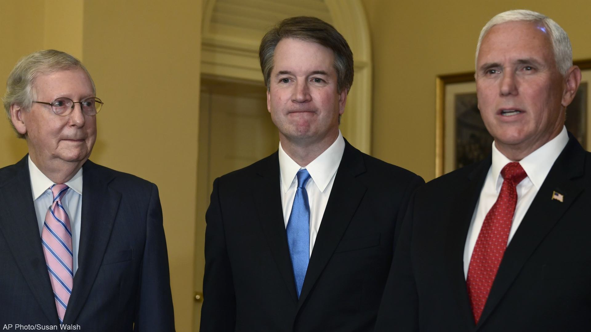 supreme court nominee brett kavanaugh vice president mike pence senate majority leader mitch mcconnell 071018 AP_1531252215720.jpg.jpg